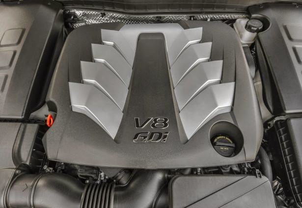 2016 KIA K900 engine