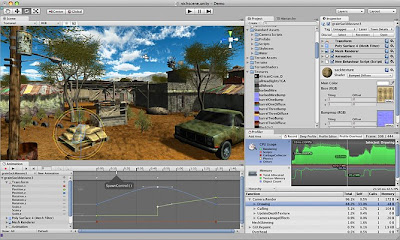 Unity 3D Making Game Screenshots 2