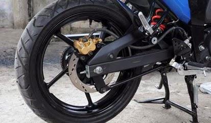 Tips dan Cara Pasang Rem Cakram Belakang Yamaha Byson