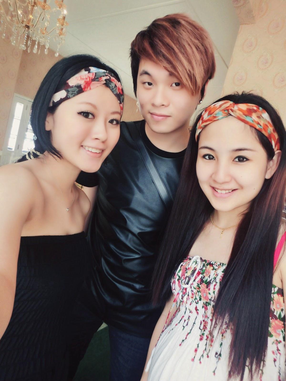 Ray陳學沿 (raytansy),Kelly Kee, Miya Fen, Victoria Rossa English Tea Room @ Johor Bahru, Malaysia