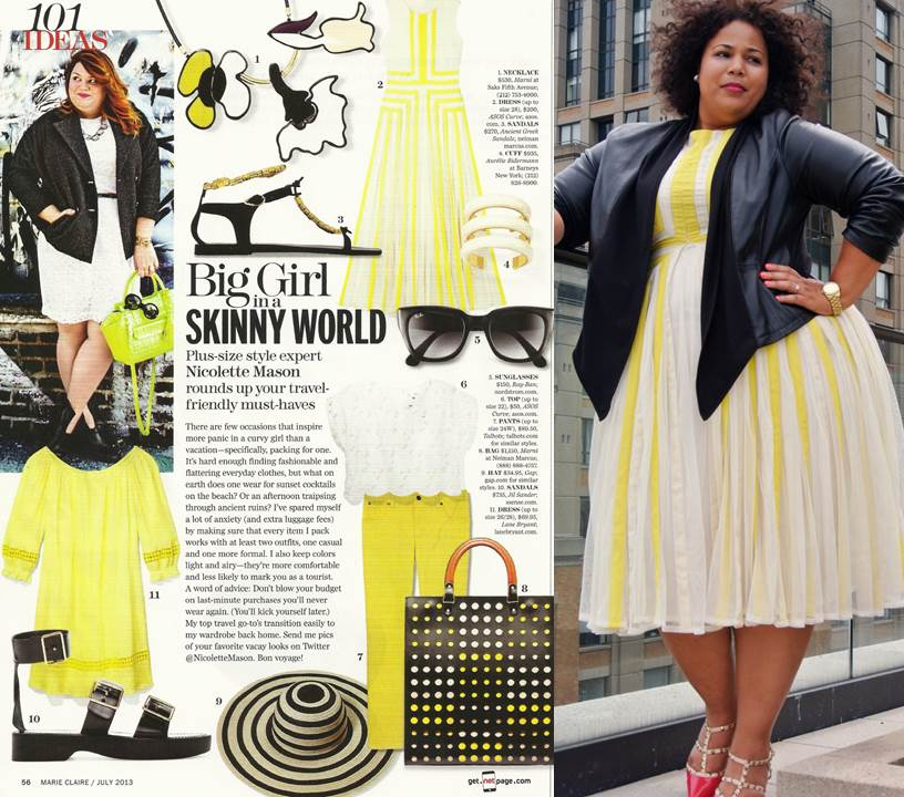 Lane Bryant Leather Jacket, ASOS Curve Dress