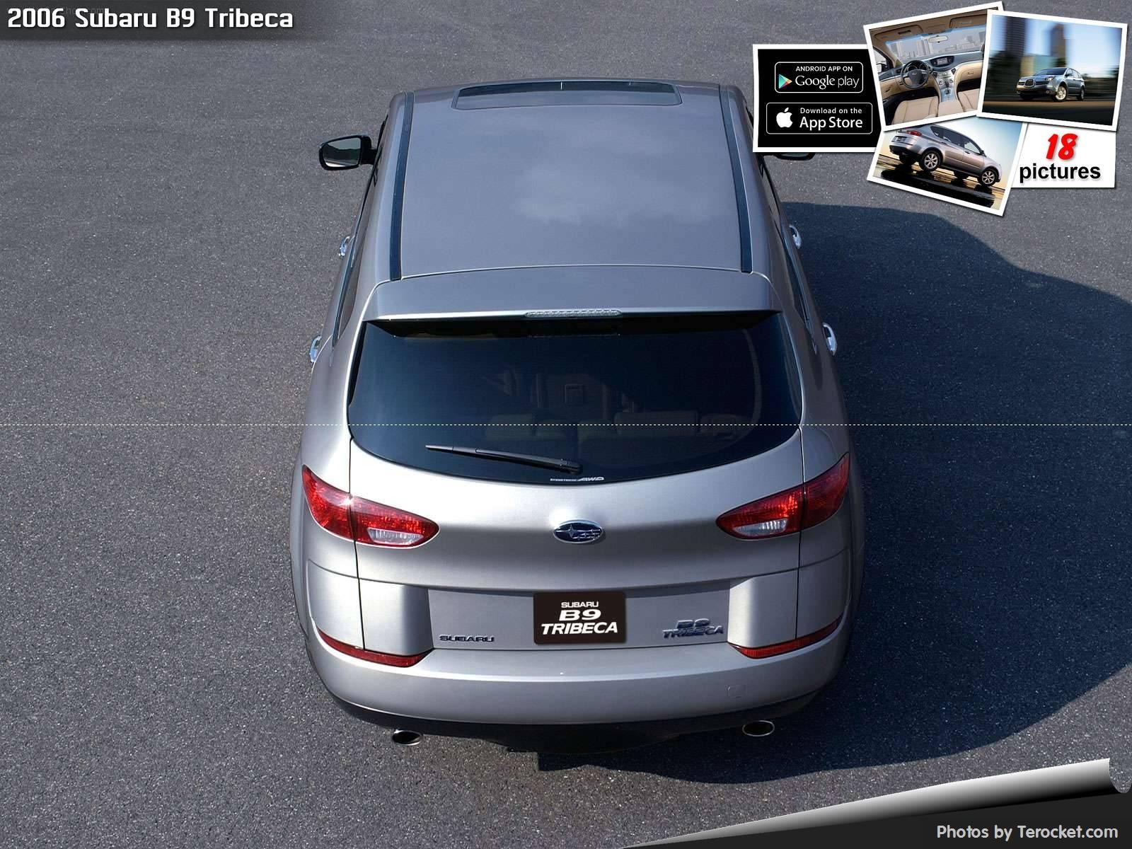 Hình ảnh xe ô tô Subaru B9 Tribeca 2006 & nội ngoại thất