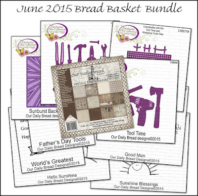 ODBD June 2015 Bread Basket Bundle