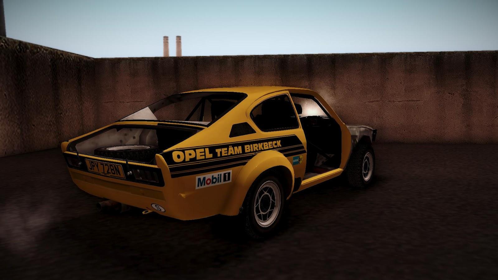 Autos Media  Opel Kadett Rally