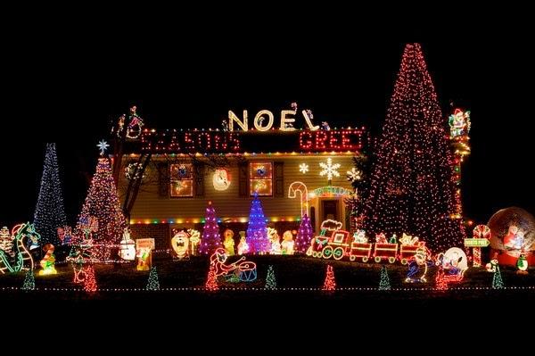 Рождественская иллюминация. США