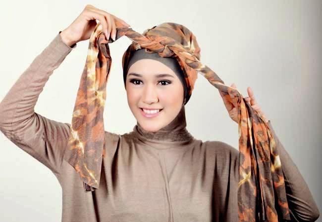 gambar hijab praktis