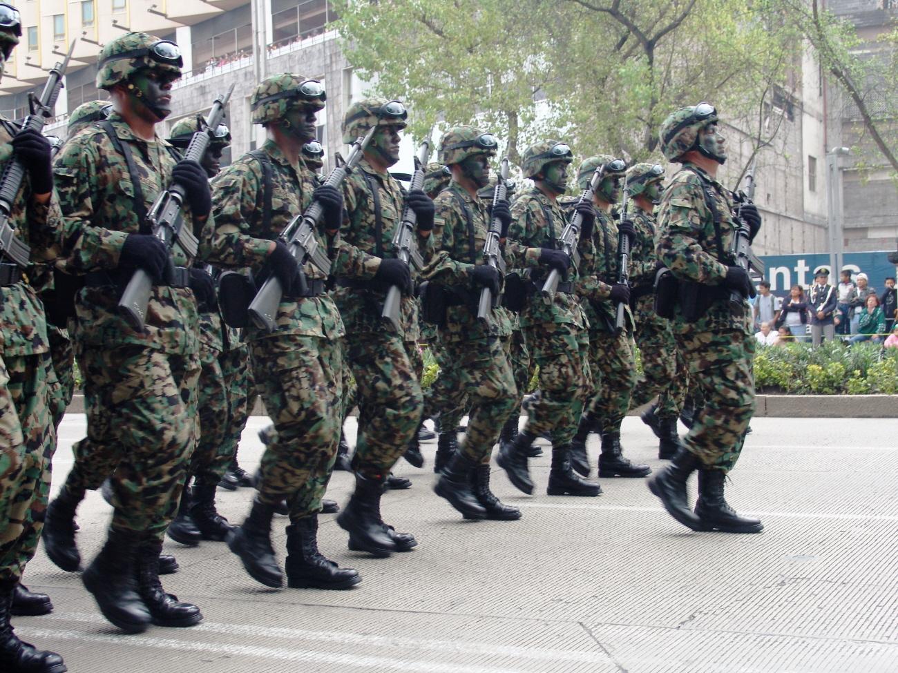 LOS MILITARES EN ÉPOCA DE PAZ