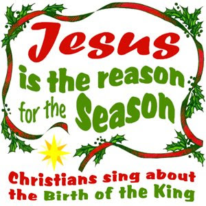 Jesus is the reason for this season Christmas wallpaper