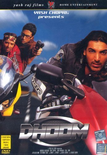 Poster Of Dhoom 2004 720p BluRay Hindi