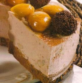 Receta Pastel de Cacao y Castañas