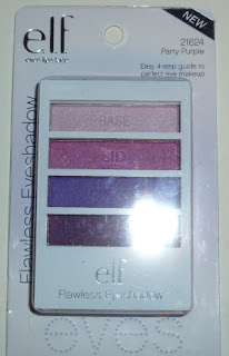 E.L.F. Flawless Eyeshadow in Party Purple
