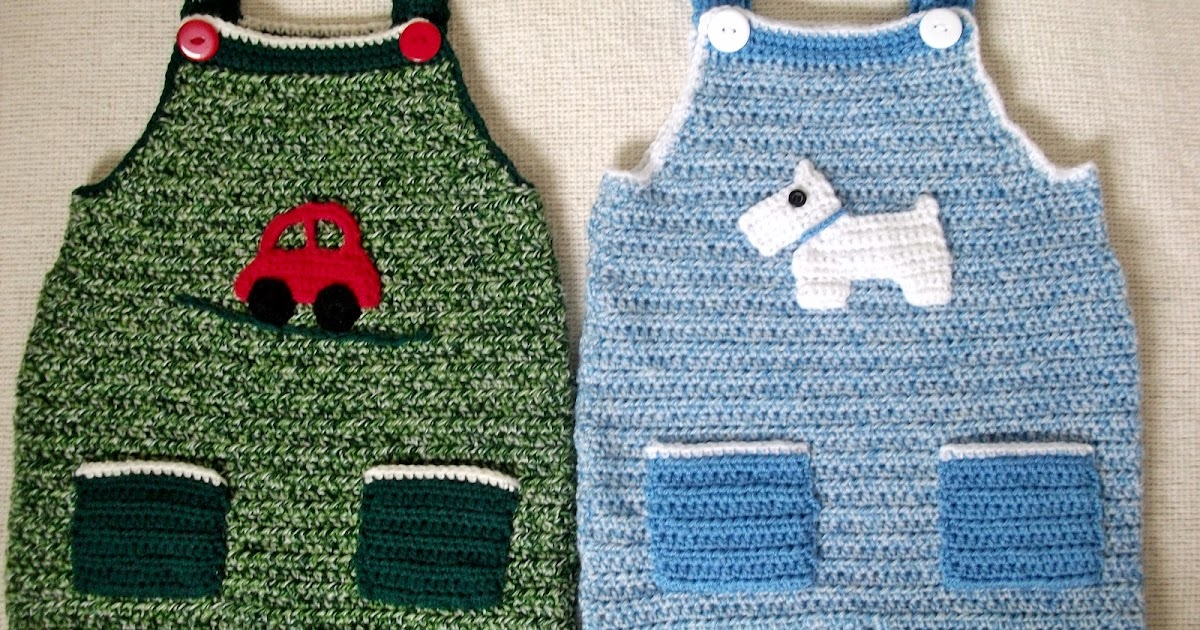 Lindas Crafty Corner Crochet Dungaree Pattern