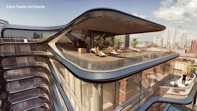 Edificio residencial de lujo en Nueva York proyecto de Zaha Hadid