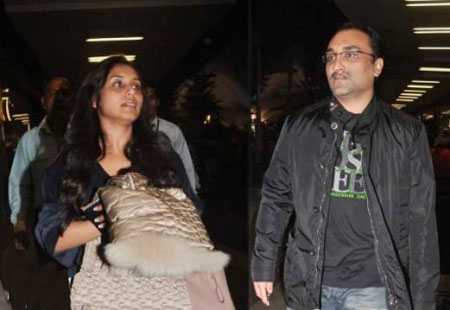 Rani Mukherjee & her boyfriend are going away