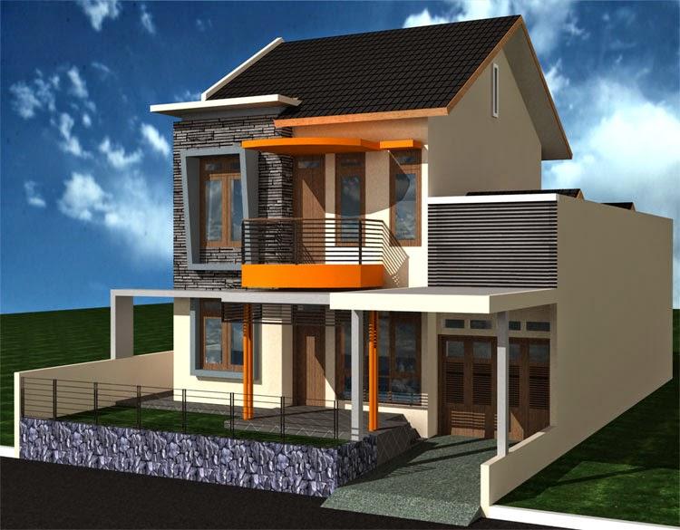 Desain Rumah 2 Lantai 2014