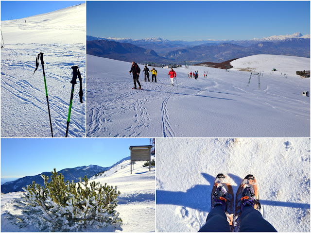 snow rackets on Majella mountain http://shabbychiclife-silvia.blogspot.it