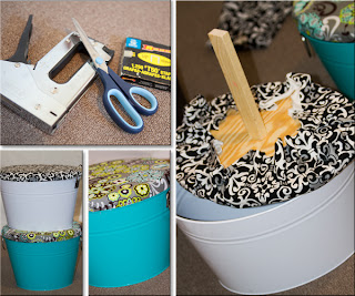 DIY photo props upholstering