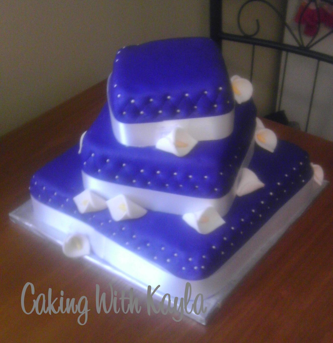 Caking with Kayla July 2012