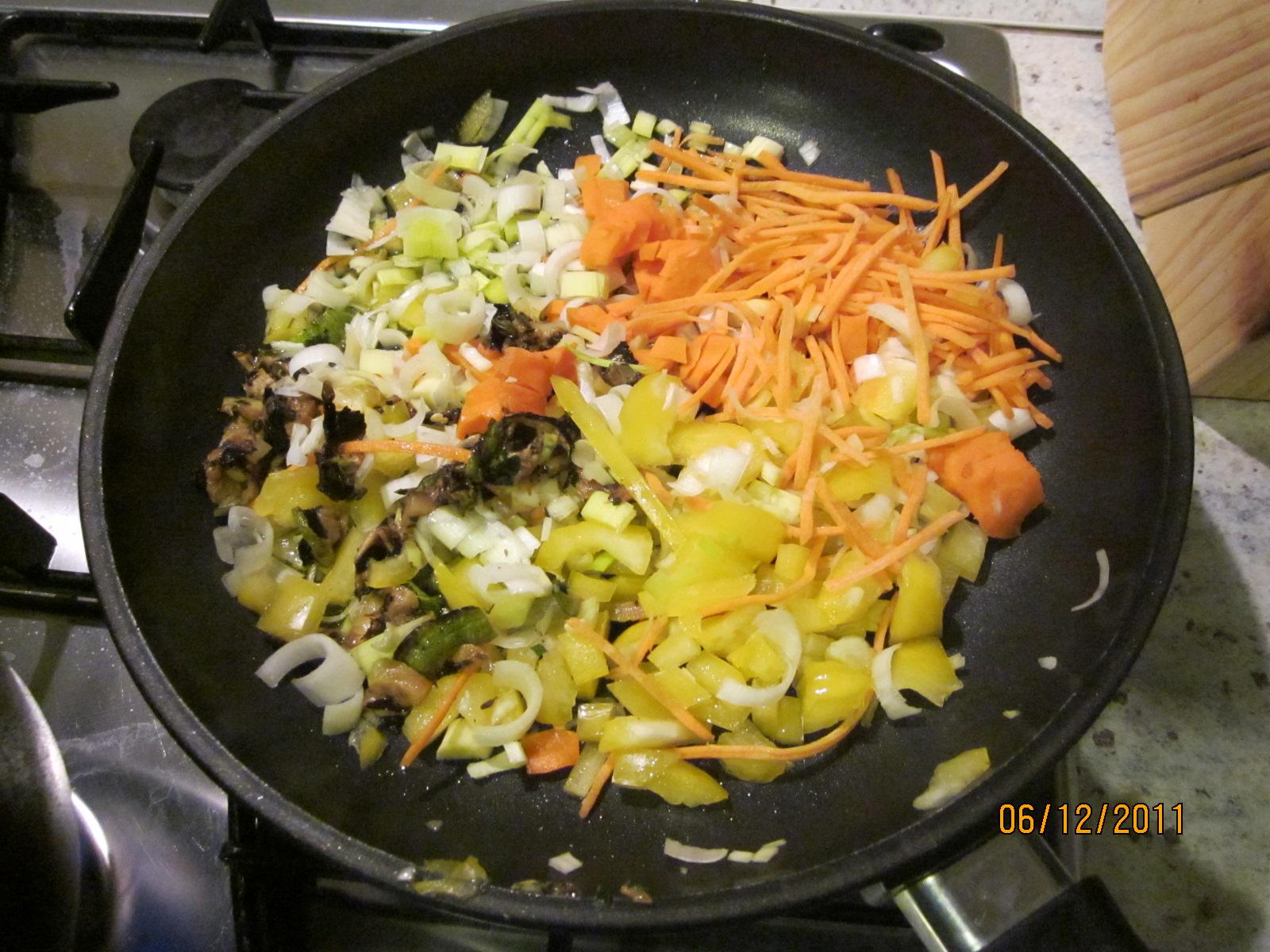 La cucina di gioconda mezze penne alla julienne di verdure for Verdure alla julienne