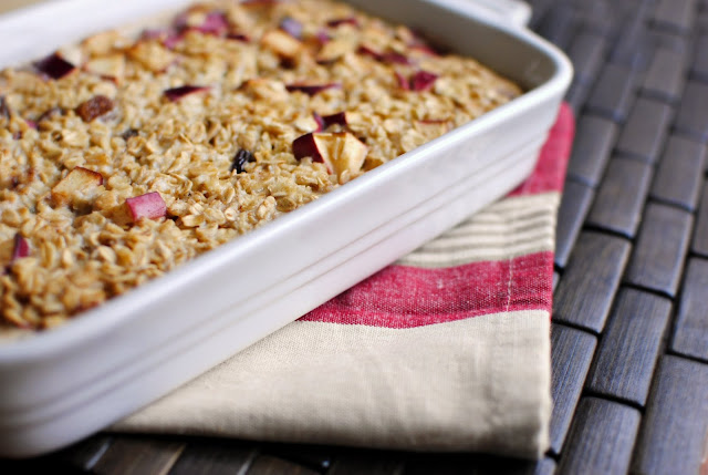 Simply Scratch Baked Apple Cinnamon Oatmeal - Simply Scratch