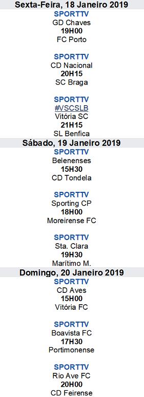 Liga Nós 2018-2019 18ºJornada