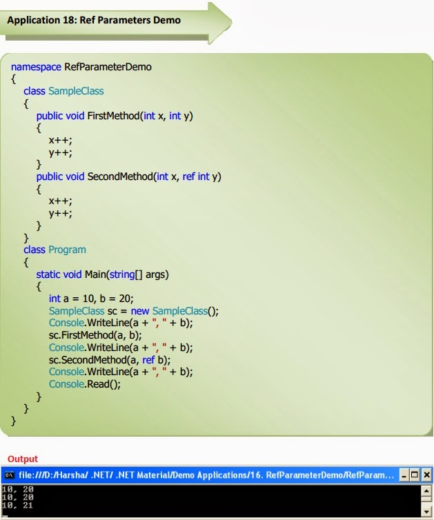 ref parameter