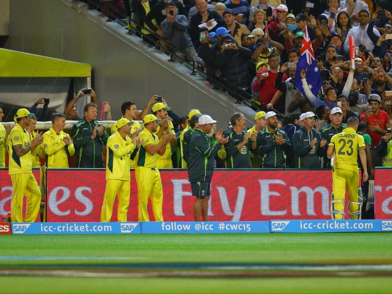Australia wins Cricket world Cup 2015