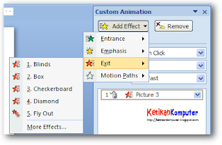 Cara Membuat Animasi Bergerak Pada Gambar Di Ms Power Point 2007 Tips ...