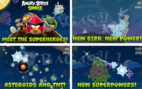 Angry Birds Space for Android 2