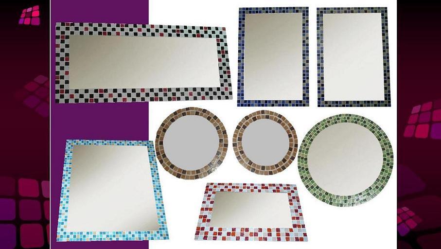 Espejo con venecitas 60x40cm estante ba o living for Decoracion hogar neuquen