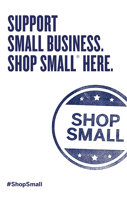 Shop Small Flyer, American Express
