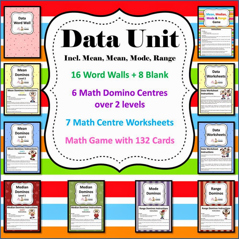 http://www.teacherspayteachers.com/Product/Data-Unit-6-Math-CenterLiteracy-8-Worksheets-Game-Wordwall-492166