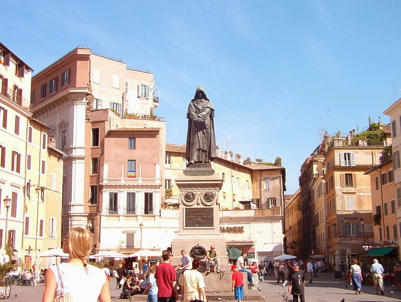 Giordano Bruno - Campo di Fiori, Roma