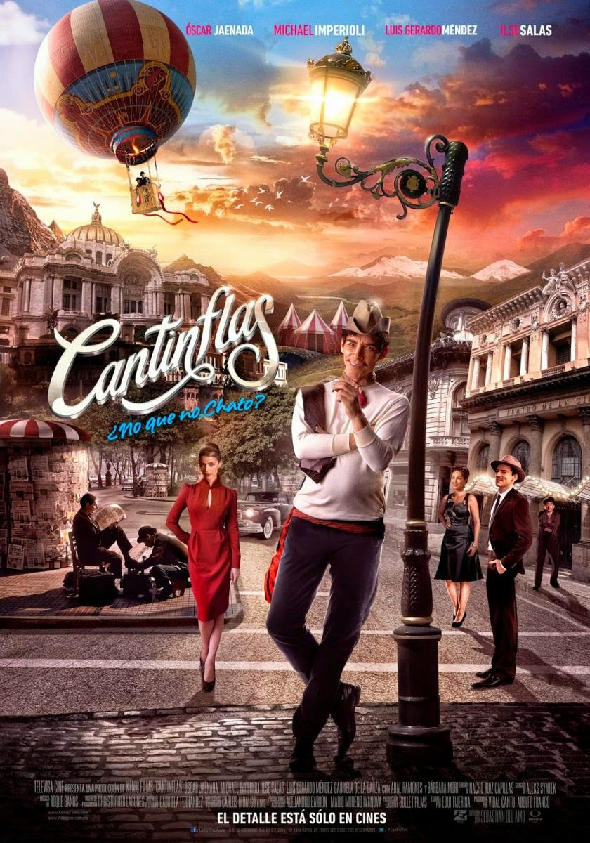 Poster de Cantinflas (2014)