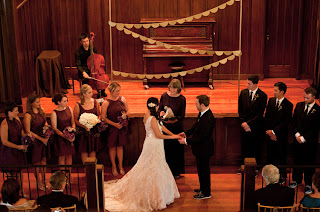 Alli and Whitney's wedding ceremony at the Sanctuary at Admiral