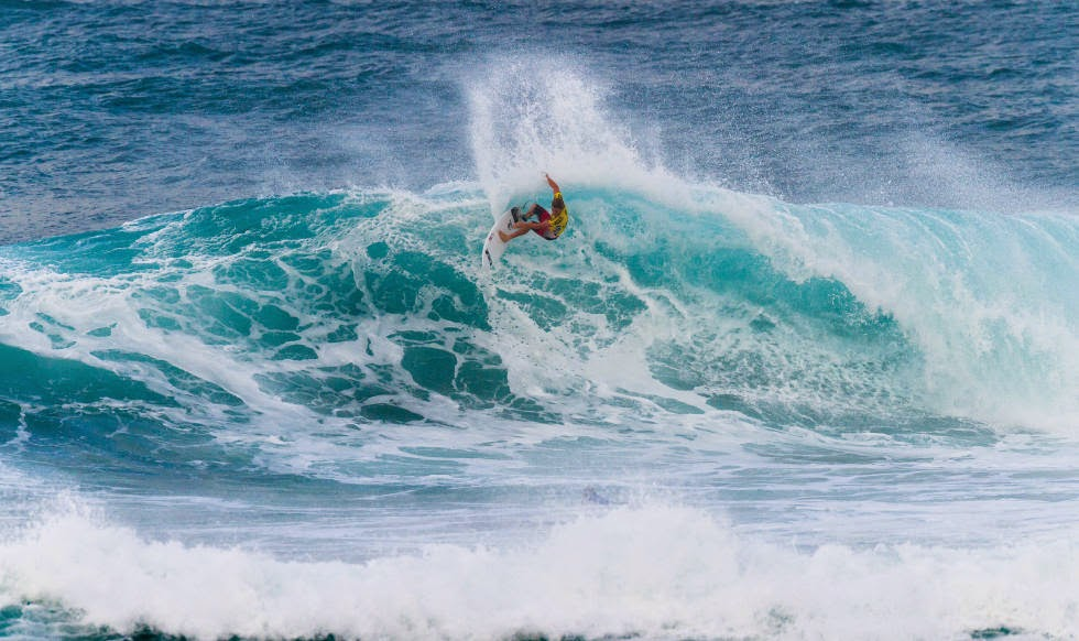 68 Vans World Cup of Sufing 2014 Billy Stairmand Foto ASP