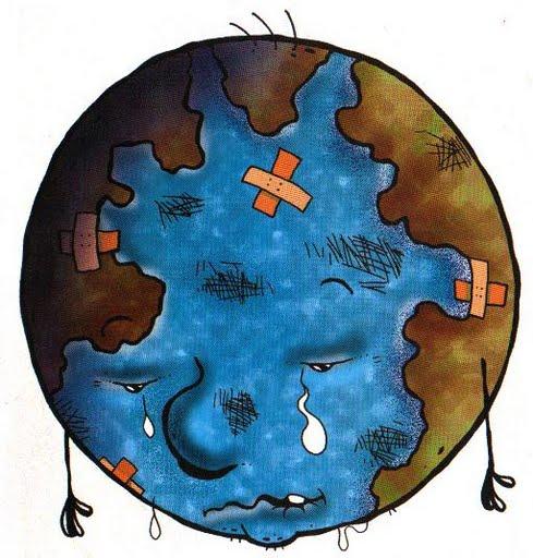 El mundo contaminado para colorear - Imagui