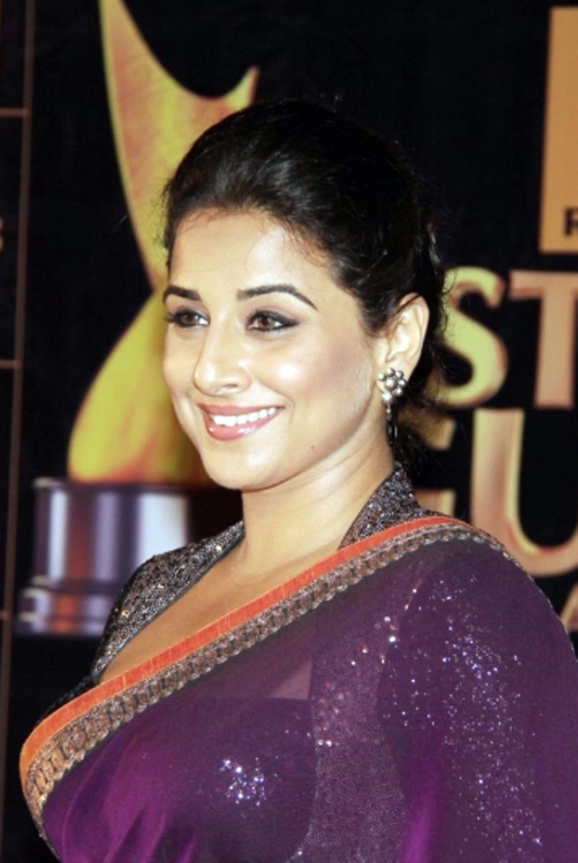 Bollywood Hot Actress Vidya Balan Latest Stills In Violet ...