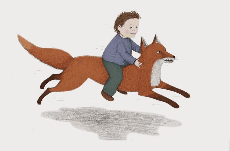boy and fox - yara dutra