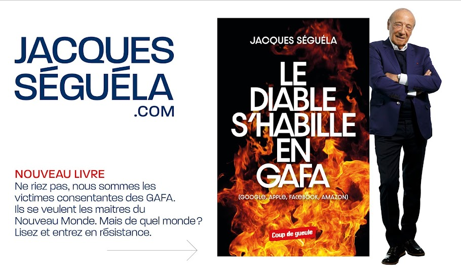 Le site officiel de Jacques Séguéla