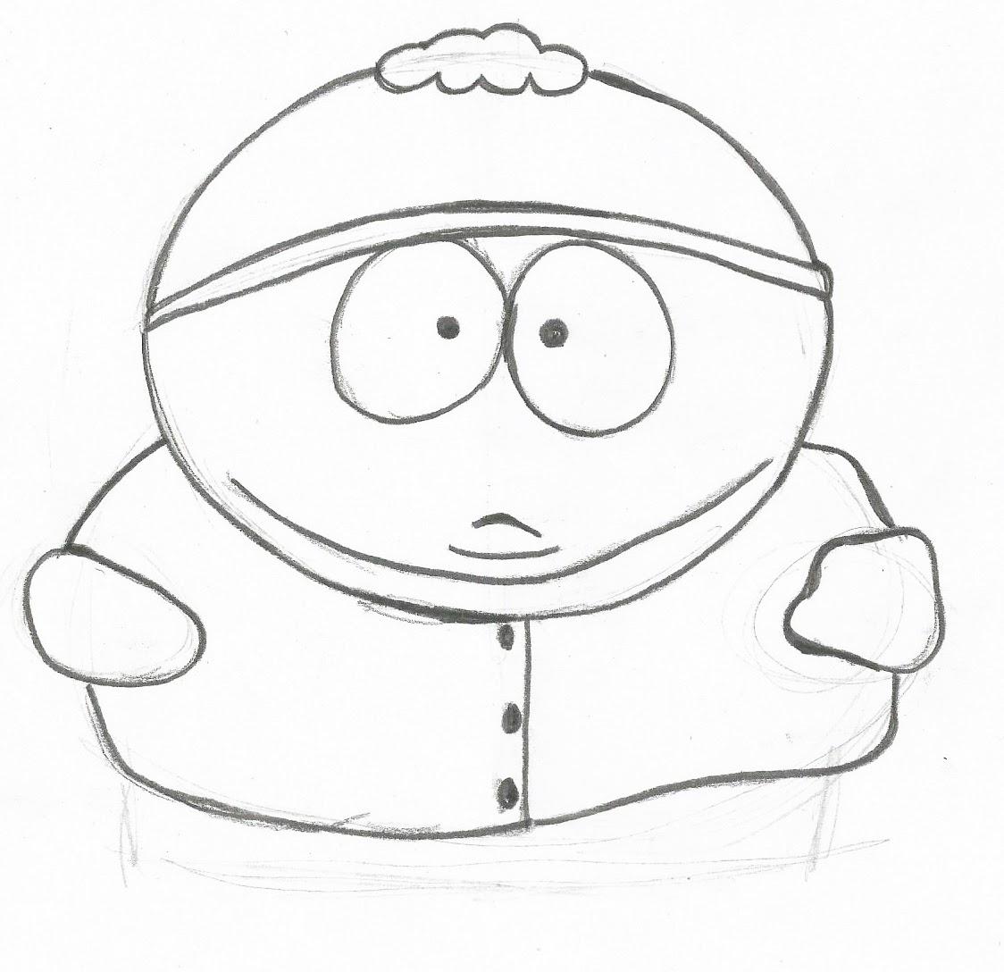 cartman south park coloring pages - photo#50