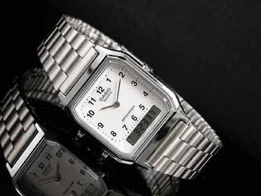 casio dual time angka