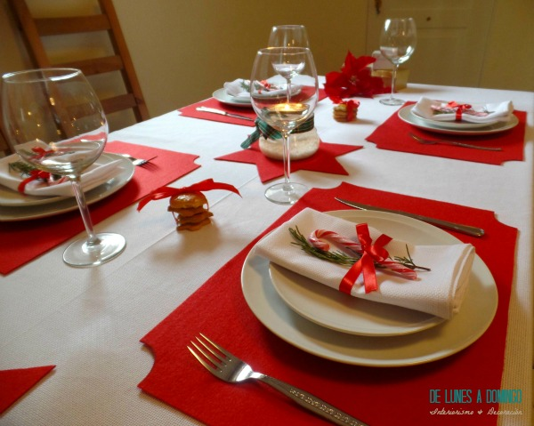De lunes a domingo decoramos una mesa de navidad para la - Adornar la mesa para navidad ...