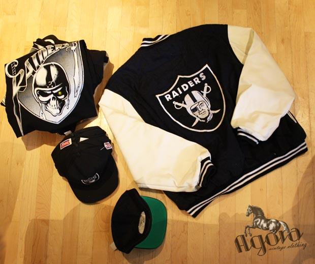 4afc7f1dced Vintage LA Raiders Snapback Combo - Agora Clothing Blog