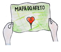 Navegue no Mapa do Afeto