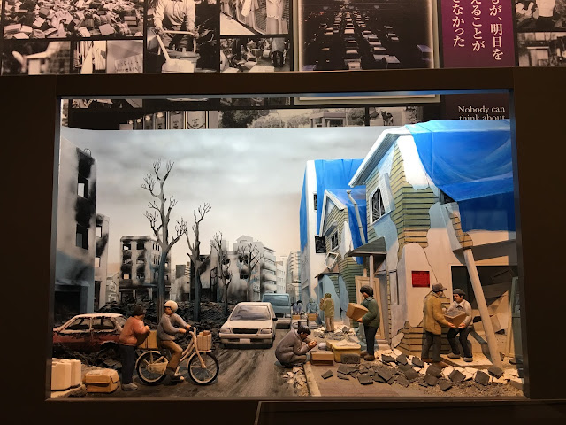 kobe great hanshin earthquake diorama