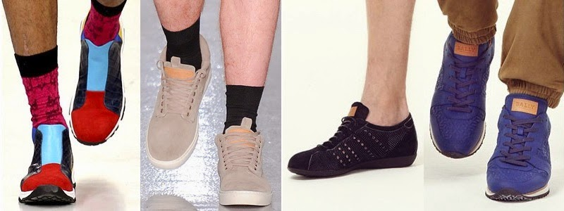 Spring Summer 2014 Men Sneaker Fashion Trends