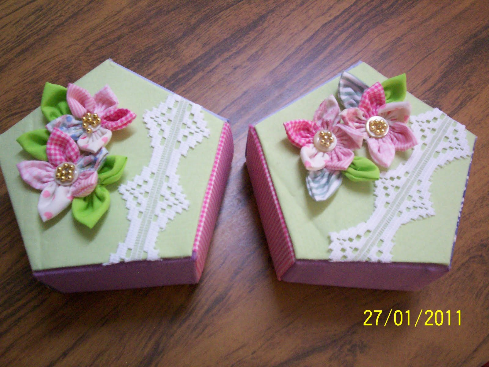 Reciclados rapiditos cajas para regalos - Cajas forradas de papel ...