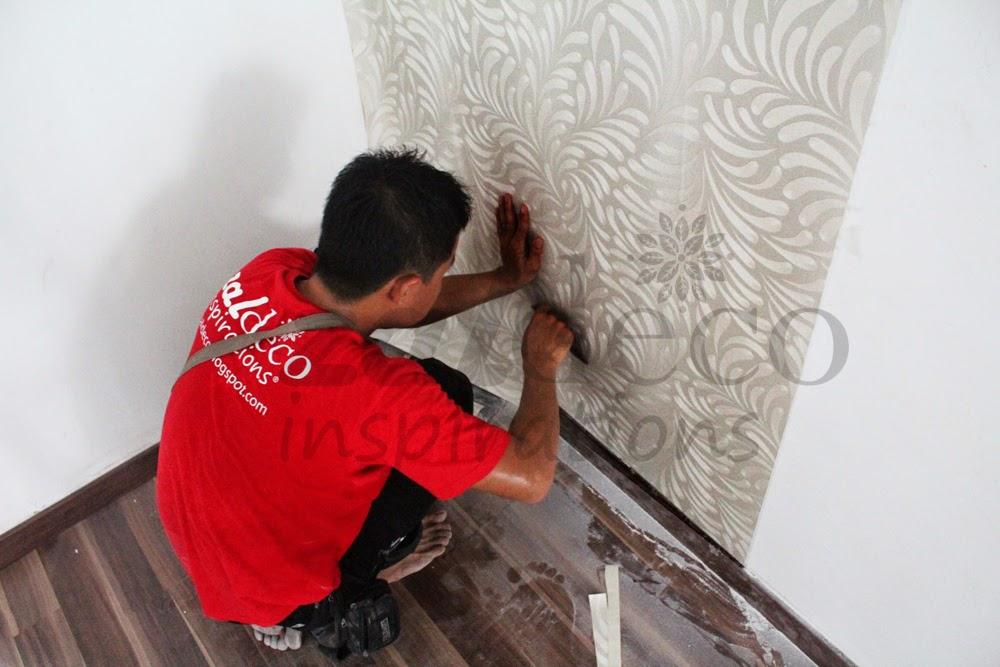 Zaldeco pemasangan kertas dinding zaldeco di puchong prima for Home wallpaper kedah