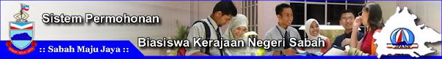 Permohonan Biasiswa Kerajaan Negeri Sabah 2013
